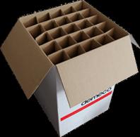 carton verre